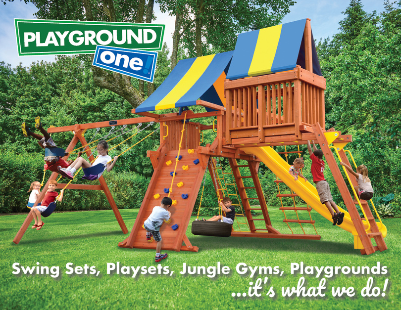 Playground One Playsets Forts Playcenters Mega Sets