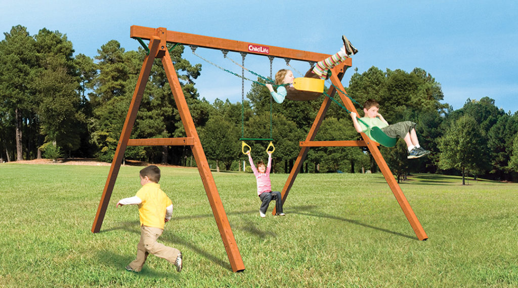 Bergen County Swing Sets Childlife Traditional Jungle Swinger