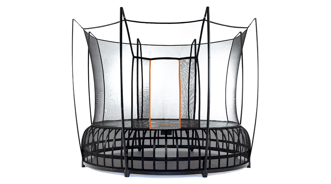 Bergen County Swing Sets Vuly Thunder Trampoline Large