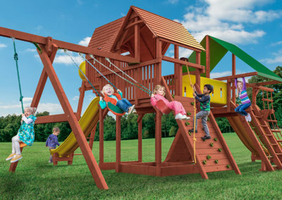 Outback & Playhouse Combo XL