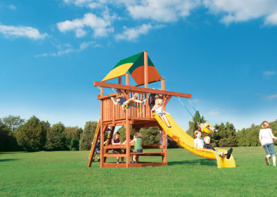 Playhouse 5′ w/ Double Swing Arm